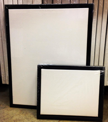 Canvas & Frame Narrow Black 14x18