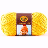 Lion Brand Yarn 81yards Pittsburgh Yellow