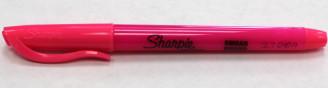 Sharpie Highlighter Thin Fluorescent Pink