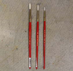 Value Paint Brush Natural Hog Bristle Round #5