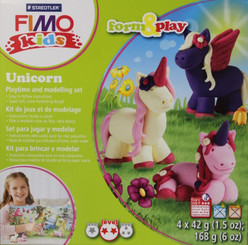 Fimo Clay Unicorn Set Oven-Bake