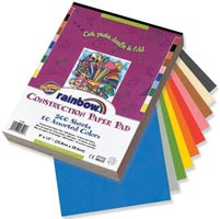 Pacon Construction Paper 200pk 9x12 Rainbow