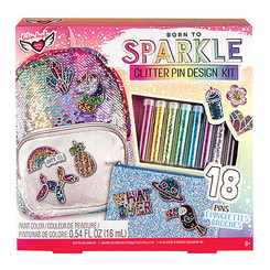 Fashion Angels Glitter Pin Design Kit