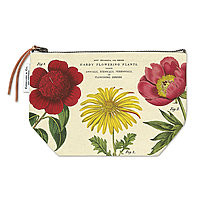 Cavillini Vintage  Pencil Case Pouch Botanical