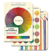 Cavillini Mini Notebooks 3pk Colour Wheel