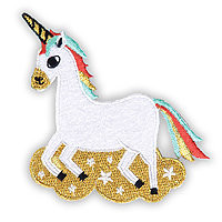 Iron-On Embroidered Patch Unicorn