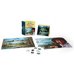 Teeny-Tiny Bob Ross Happy Little Puzzles Kit