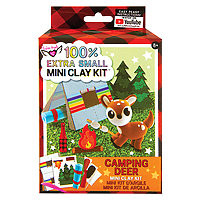 Clay Kit Mini Camping Deer