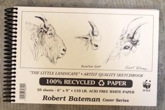 Robert Bateman Sketchbook Coil 6x9 110lb (landscape)