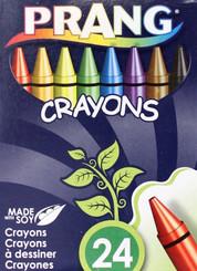 Prang Wax Crayons 24pk