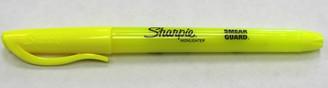 Sharpie Highlighter Thin Fluorescent Yellow