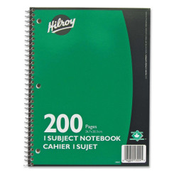 Hilroy Lined Notebook 200pg Coil