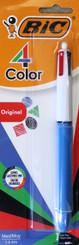 Bic 4-Colour Retractable Pen Standard Colours