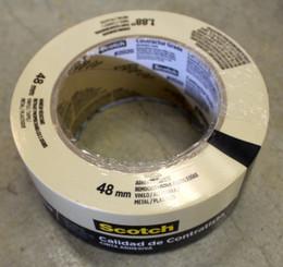 Scotch Masking Tape Roll 48mmx55m