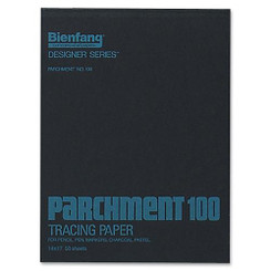 "Bienfang Parchment Tracing Pad 14x17"" 50sheets"