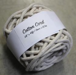 Cotton Cord Natural Colour 50ft / 15m (5mm thick)
