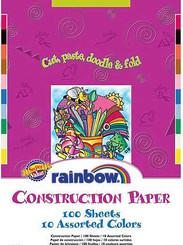 Pacon Construction Paper 200pk 9x12 Rainbow (loose sheets)