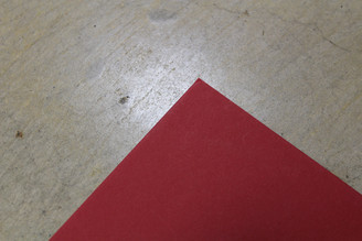 """Crescent Decorative Matte Board 32x40"""" Chinese Red (no shipping)"""