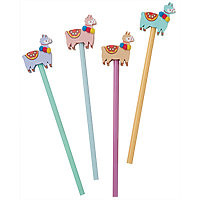 Pencil & Eraser Llama Assorted Colours (randomly selected)