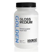 Golden Medium 8oz Gloss