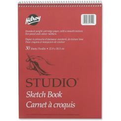 Hilroy Sketchbook 9x12 Coil 30pg