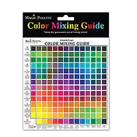 "Colour Wheel Mix Guide Mini 7x7"""