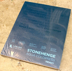 Stonehenge Watercolour Block 300lb 9x12 Cold Press 10 sheets