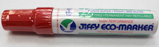 Jiffy Permanent Marker Red XL King Size 12mm