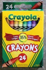 Crayola Wax Crayons 24pk