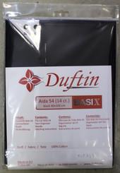 Aida Cloth Fabric for Cross Stitch Black #14 40x100cm 100% cotton