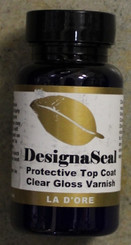 DesignaSeal Gold Leaf Sealer Varnish 3oz 89ml