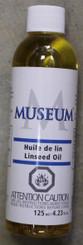 Museum Linseed Oil 125ml (4.23oz)
