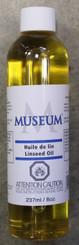 Museum Linseed Oil 237ml (8oz)