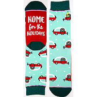 Crew Socks Home for the Holidays