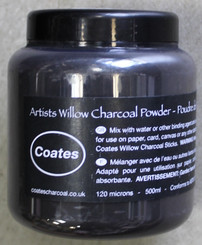 Coates Willow Charcoal Powder 500ml 120 microns