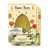 Cavillini Mini Notebooks 3pk Honey Bees