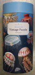 Cavallini Puzzle 1000 pieces Vintage Jellyfish