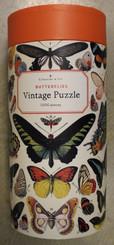 Cavallini Puzzle 1000 pieces Vintage Butterflies