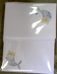 Sublime Writing Set Cards, Envelopes & Paper 30 piece MER-CAT white