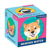 Memory Match Game Dogs