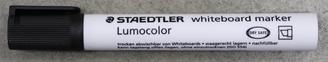Staedtler White Board Dry Erase Chisel Pen Black