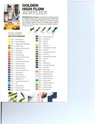 Golden HiFlow Acrylic Ink 1oz Sr 7 Iridescent Copper Fine