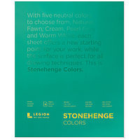 Stonehenge Pad 100% Cotton Paper 11x14 Colours