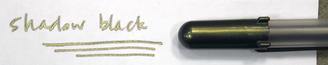 Sakura Gelly Roll Pen Gold Shadow Black
