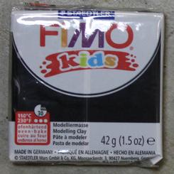 Staedtler Fimo Kids Oven Bake Clay 42g (1.5oz) Black