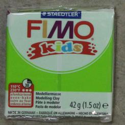 Staedtler Fimo Kids Oven Bake Clay 42g (1.5oz) Lime