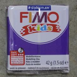 Staedtler Fimo Kids Oven Bake Clay 42g (1.5oz) Violet