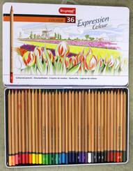 Bruynzeel Expression Pencil Crayon Tin Set 36pk