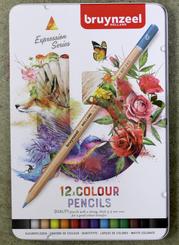 Bruynzeel Pencil Crayons Tin Set 12pk