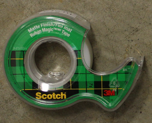 Scotch Tape Small Roll Magic with Holder (11y)